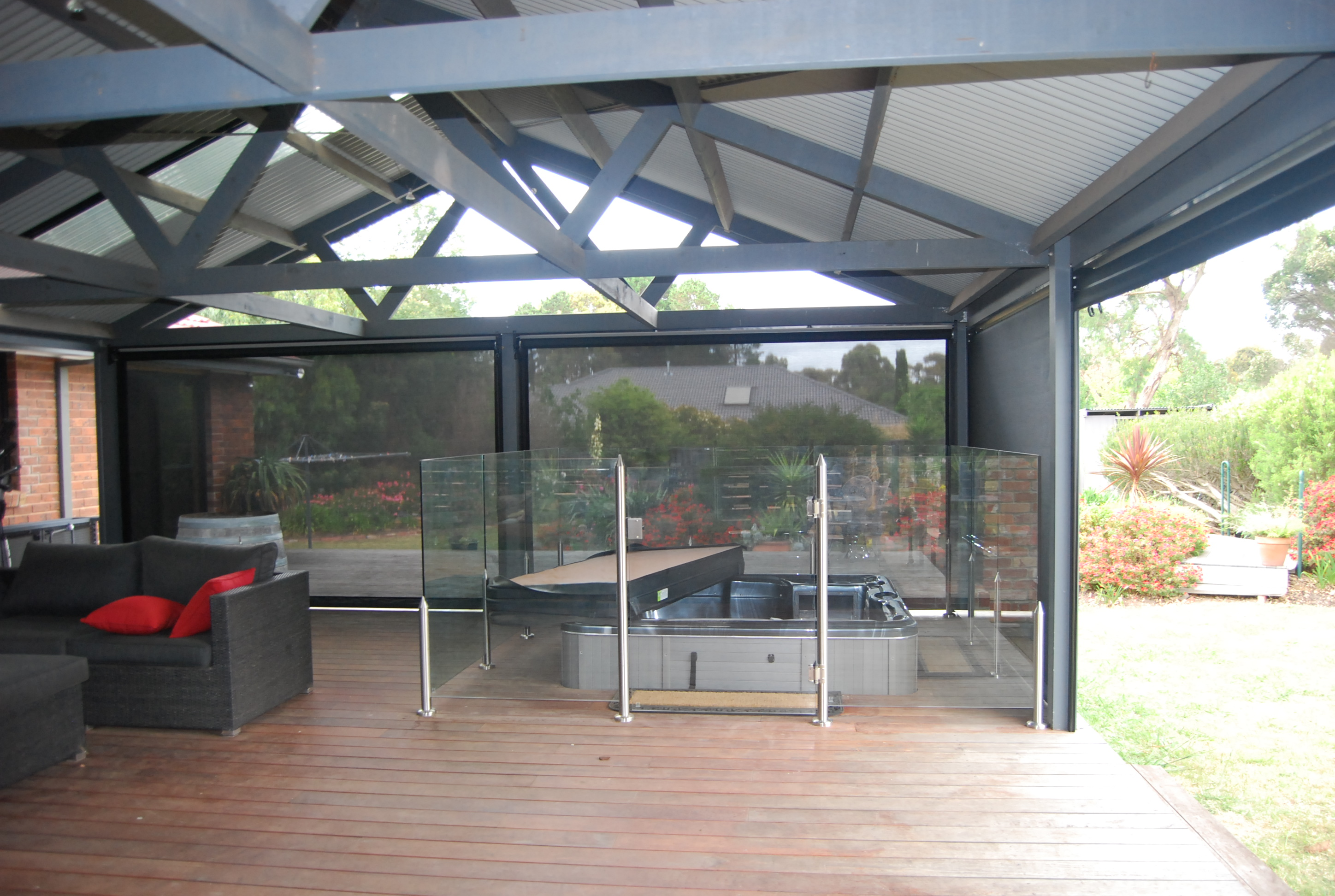 All Weather Retractable Roof | Countrywide Window ...